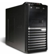 Acer Core 2 Duo E7600 2x3,06Ghz CPU - 8GB DDR3 RAM PC (Acer M480G)