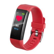 ID115 Fitnesz Okos karkötő OLED kijelzővel (Piros)