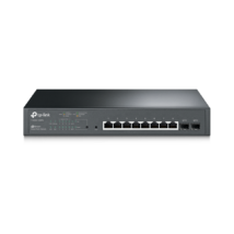 TP-Link T1500G-10MPS JetStream 8-Port Gigabit Smart PoE+ Switch with 2 SFP Slots