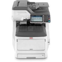 Oki MC873DN lézernyomtató/másoló/síkágyas scanner/fax A3
