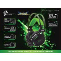 Dragon War Freya G-HS-007 Gaming Headset Black/Green