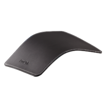 Logilink ID0150 Mousepad in leather design Black