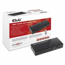 Club3D SenseVision HDMI 2.0 UHD 4 port Switchbox