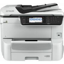 Epson WorkForce Pro WF-C8610DWF wireless tintasugaras nyomtató/másoló/síkágyas scanner/fax A3