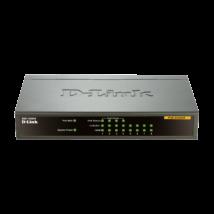 D-Link DES-1008PA 8 Port 10/100Mbps with 4 PoE Desktop Switch