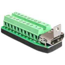 DeLock Adapter HDMI female > Terminal Block 20pin