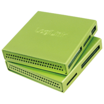Logilink CR0021 USB2.0 Alu CardReader Green