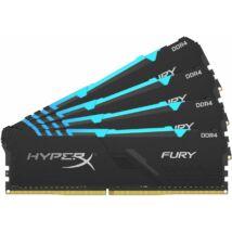 Kingston 32GB DDR4 2666MHz Kit(4x8GB) HyperX Fury RGB Series