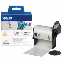Brother DK-11207 elővágott öntapadós címke 100db/tekercs 58mm x 58mm White