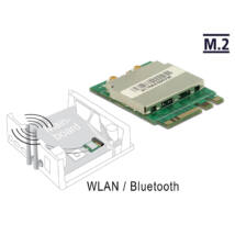 DeLock Module M.2 Key A+E male > WLAN 11ac/a/b/g/n + Bluetooth 4.0