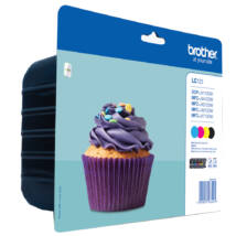 Brother LC123VALBP CMYK Pack