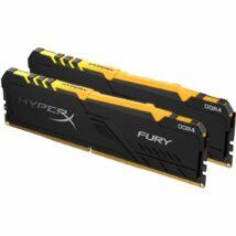 Kingston 32GB DDR4 3000MHz Kit(2x16GB) HyperX Fury RGB Series