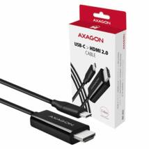 AXAGON RVC-HI2C USB-C > HDMI 2.0 cable 1,8m Black