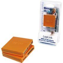 Logilink CR0022 USB2.0 Alu CardReader Orange