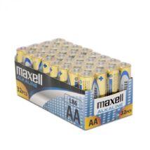 Maxell alkáli ceruza elem (AA) 32db/csomag