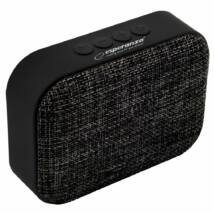 Esperanza Samba Bluetooth speaker Black