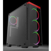 Új AMD Ryzen 7 2700 AM4 8x4,1GHz - 4GB DDR4 RAM - XFX RX 470 8GB DDR5 VGA PC