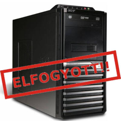 Acer Core 2 Duo E7600 2x3,06Ghz CPU - 4GB DDR3 RAM PC (Acer M480G)