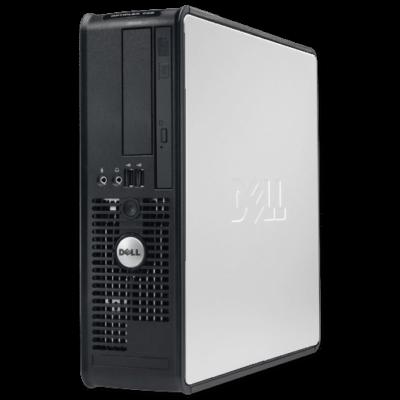 Dell Intel Pentium 2,8Ghz CPU - 2GB DDR2 RAM PC (Dell Optiplex GX620, SFF)