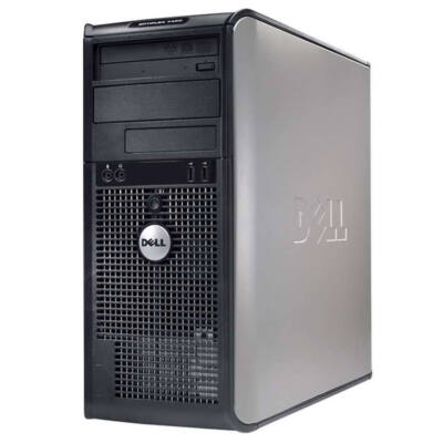 Dell Intel Pentium 3,0Ghz CPU - 3GB DDR2 RAM Tower PC (Dell Optiplex GX620)