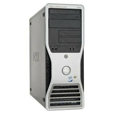 Dell Intel Core 2 Duo E6300 CPU - 2GB DDR2 RAM Tower PC (Dell Precesion 390)