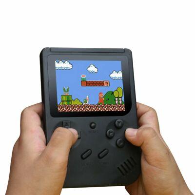 Retro kézi videójáték konzol, 168db beépített játékkal