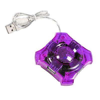 Esperanza 4-portos USB2.0 HUB Purple