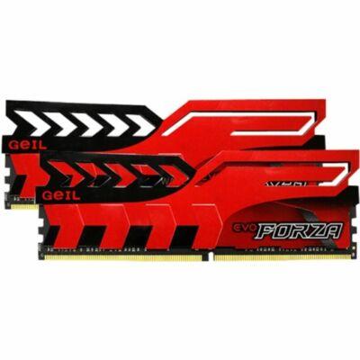 Geil 16GB DDR4 3000MHz Evo Forza Red Kit2 (2x8GB)