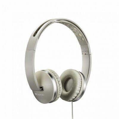 Canyon CNS-CHP4BE Headset Beige - Mikorfon Fülhallgató c19dd1e7e1