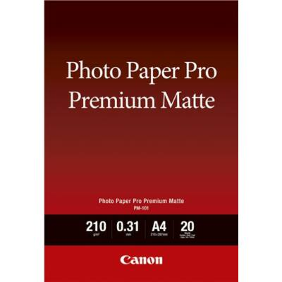 Canon Fotópapír PM-101 A4 20lap Premium Matt