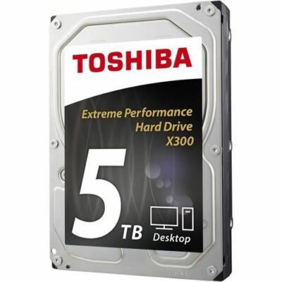 Toshiba 5TB 7200rpm SATA-600 128MB HDWE150UZSVA