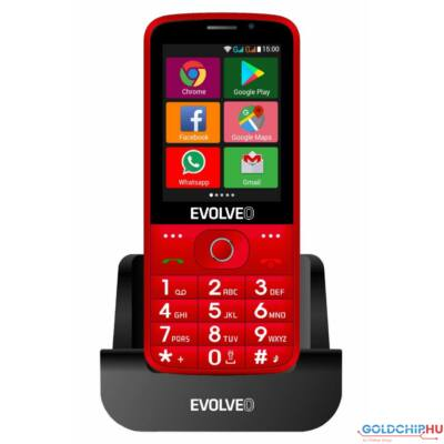 Evolveo EasyPhone AD 4GB DualSIM Red