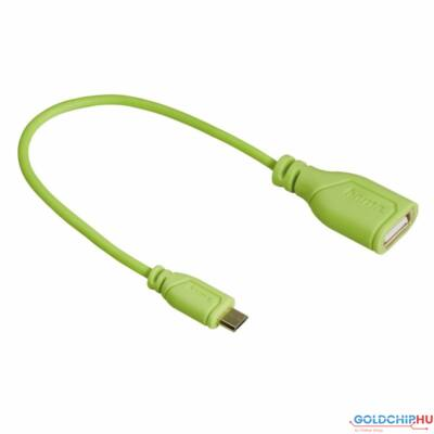 Hama MicroUSB OTG Adapter Green