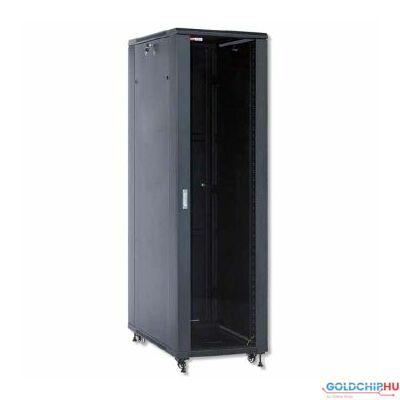WP Standing Network Rack RNA Series 22U 600x600x1166mm Unmounted, Black