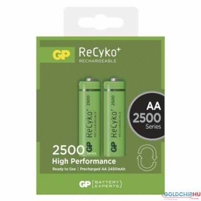 GP ReCyko+ 2500mAh AA akkumlátor 2db/bl