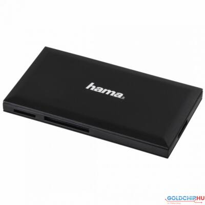 Hama USB3.0 Multi-Card Reader SD/microSD/CF/MS Black