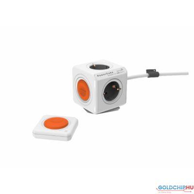 Allocacoc PowerCube Extended Remote Set 1,5m White/Orange
