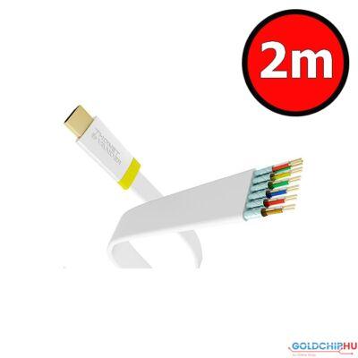 Thonet  and  Vander Exzellenz HDMI-HDMI 1.4 3D kábel 2m White