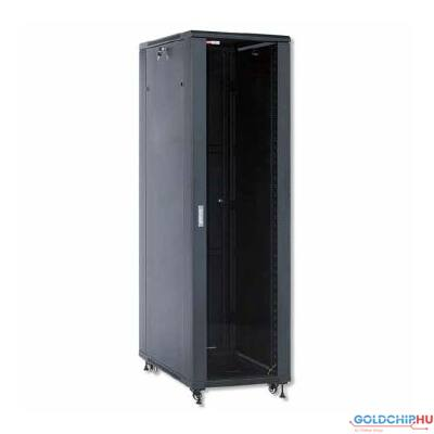 WP Standing Network Rack RNA Series 32U 600x600x1610mm Unmounted, Black