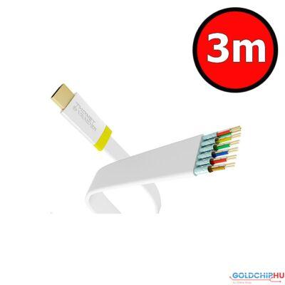 Thonet  and  Vander Exzellenz HDMI-HDMI 1.4 3D kábel 3m White