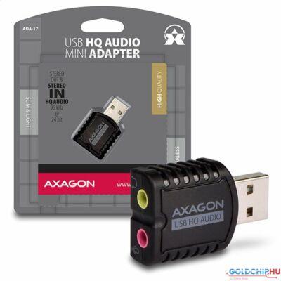 AXAGON ADA-17 USB HQ Mini Audio