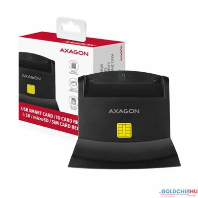 AXAGON CRE-SM2 USB Smart Card ID Card Reader  and  SD/microSD/SIM Card Reader