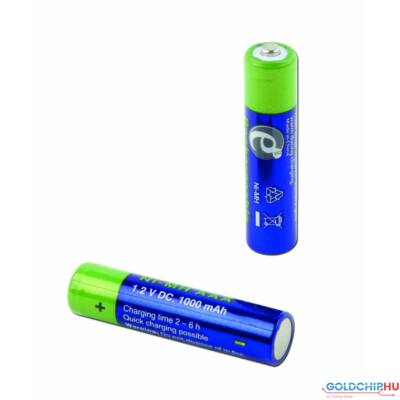 Gembird AAA 1000mAh Rechargeable battery (2-pack)