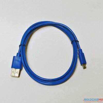 Hama MicroUSB Adatkábel Blue