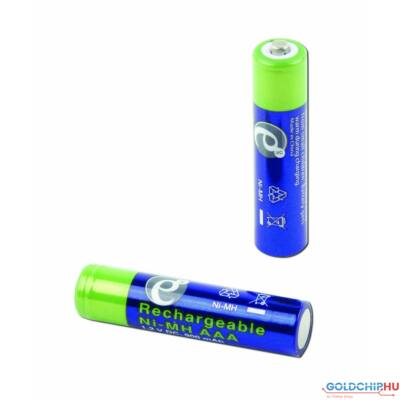 Gembird AAA 850mAh Rechargeable battery (2-pack)