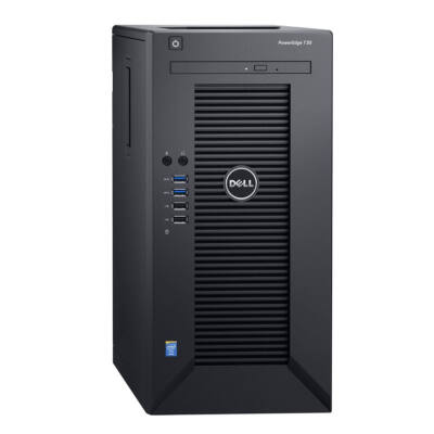 Új Dell PowerEdge T30 Tower (Xeon E3-1225 v5 3,3Ghz CPU, 8GB DDR4 RAM, 1TB HDD)