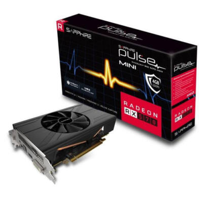 SAPPHIRE Radeon RX 570 Pulse ITX 4GB GDDR5 256bit PCIe (11266-06-20G) Videokártya