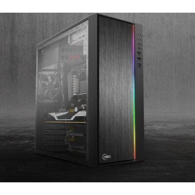 Új Gamer AMD Ryzen 5 1400 AM4 3,4GHz - 4GB DDR4 RAM - XFX RX 580 8GB DDR5 VGA PC