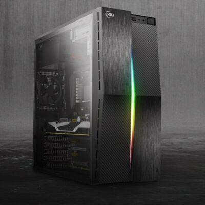 Új Intel Core i7-9700 4,7Ghz CPU - 4GB DDR4 RAM - XFX RX 580 8GB DDR5 VGA PC