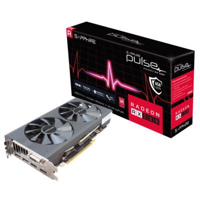 SAPPHIRE Radeon RX 580 Pulse 8GB GDDR5 256bit PCIe (11265-05-20G) Videokártya